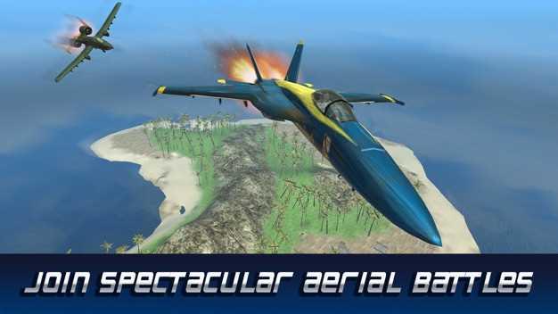 F18飞机飞行模拟器截图欣赏