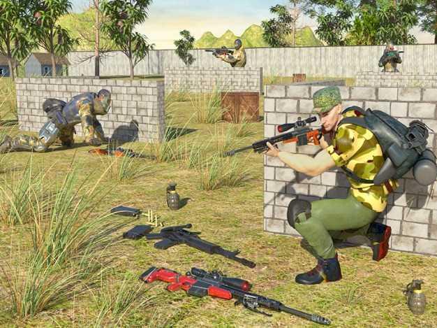 射击游戏枪攻击截图欣赏