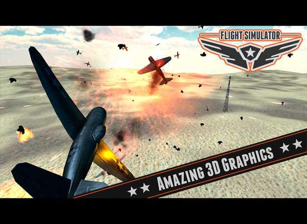 飞行模拟器飞机3DPro的2014高清截图欣赏