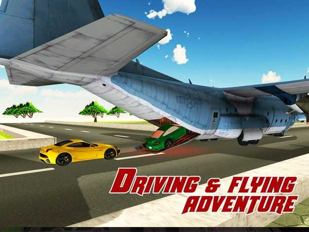 货机转运车-驾驶大型货车与在这个模拟器游戏飞飞机截图欣赏