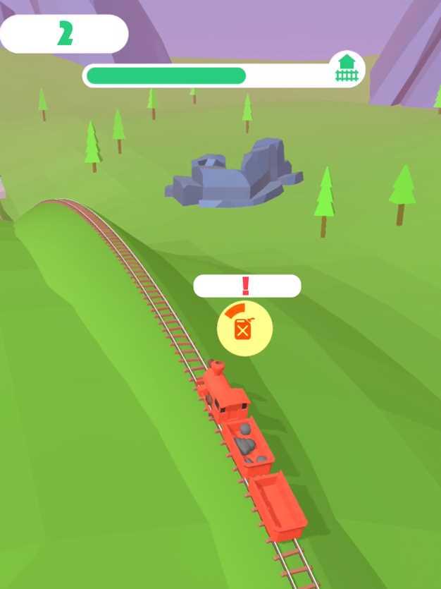 火车冲鸭!截图欣赏