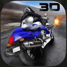 超级摩托车射手交通种族3D