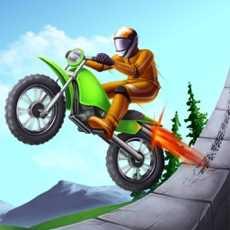 特技越野摩托-我的特技表演山地赛车