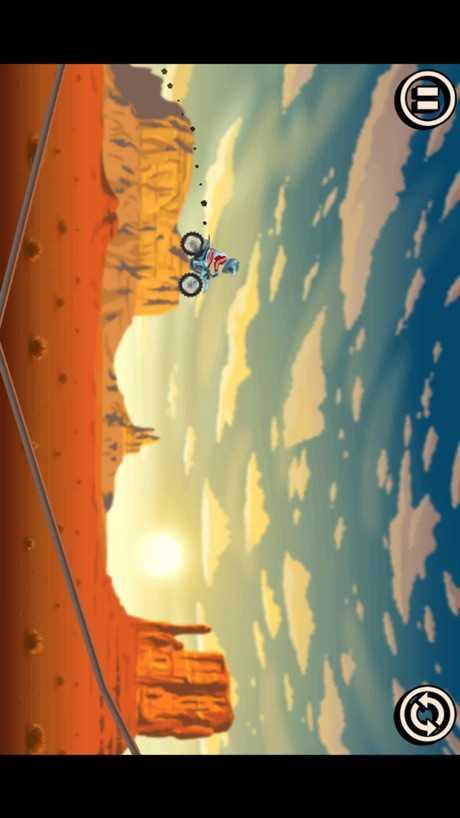 特技单车摩托飞行赛MotoTX3截图欣赏