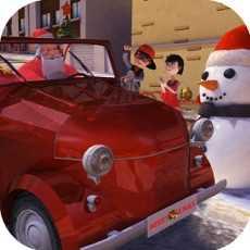 ChristmasSanta3dkidsCarParkinggame