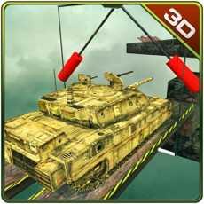 陆军坦克不可能的轨道和特技