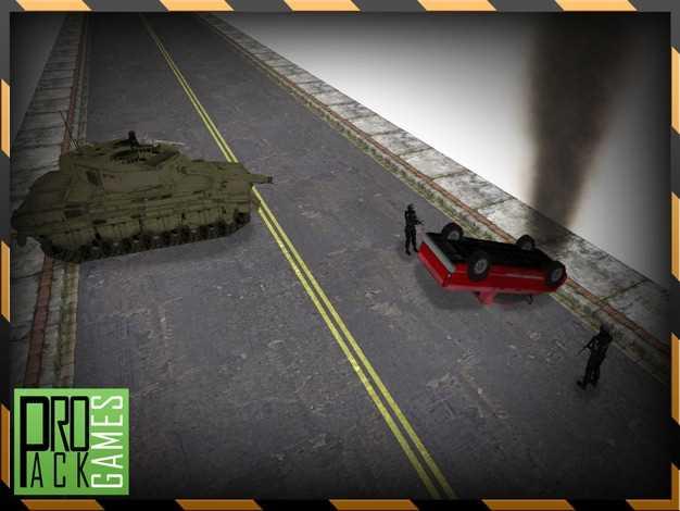 鲁莽敌人的坦克逍遥游-道奇坦克世界的攻击截图欣赏