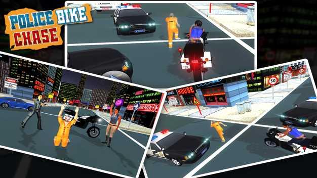 犯罪市警察自行车特技截图欣赏