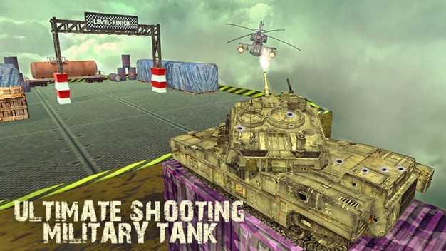 陆军坦克不可能的轨道和特技截图欣赏