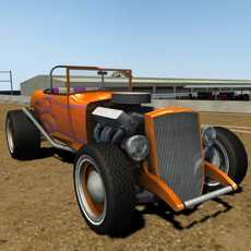 ClassicRoadster1930sCarDirtRacing3D-DrivingVintage