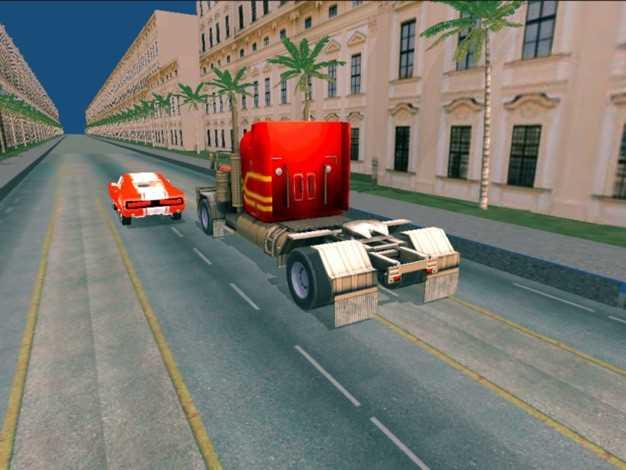 卡车赛车公路截图欣赏