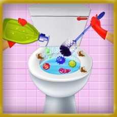 卫生间修理清扫游戏