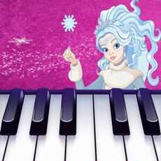 Frozen-QueenMagicTilesPiano