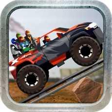 怪物卡车山地障碍赛-最新疯狂越野赛系列游戏