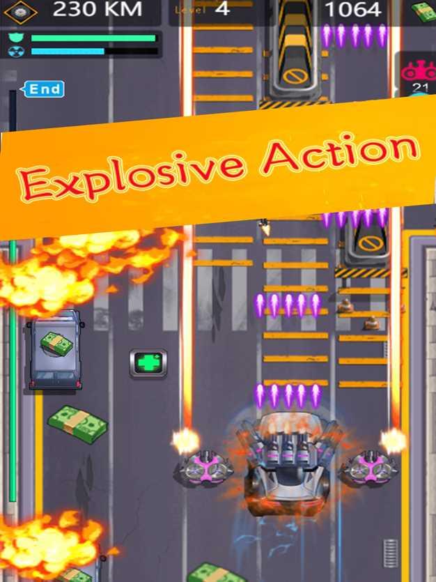 死亡飞车:复仇联盟竞速赛车游戏截图欣赏