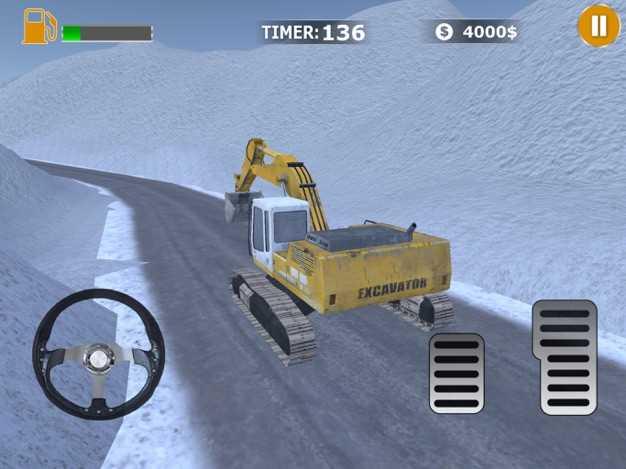 SnowExcavatorTruckSimulator截图欣赏