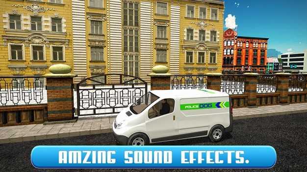 警犬运输卡车和小型货车的车程截图欣赏