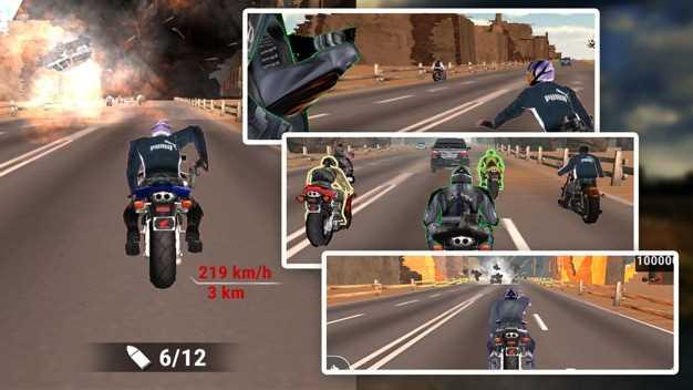 RoadRashBikeAttackRace-StuntRider截图欣赏