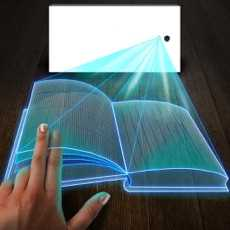 Hologram3DBookSimulator