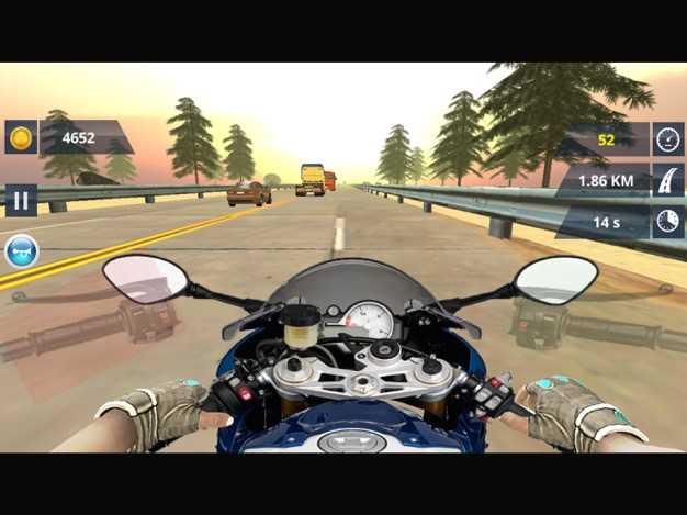 摩托车王-自行车高速公路赛车3D截图欣赏