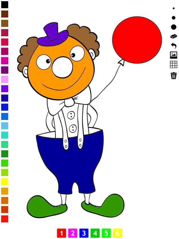 图画书马戏团为幼儿和儿童:有很多照片像一个小丑,狮子,熊,猴子,大象和变戏法。游戏学习幼儿园,学前班截图欣赏
