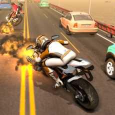 公路摩托车赛车3D