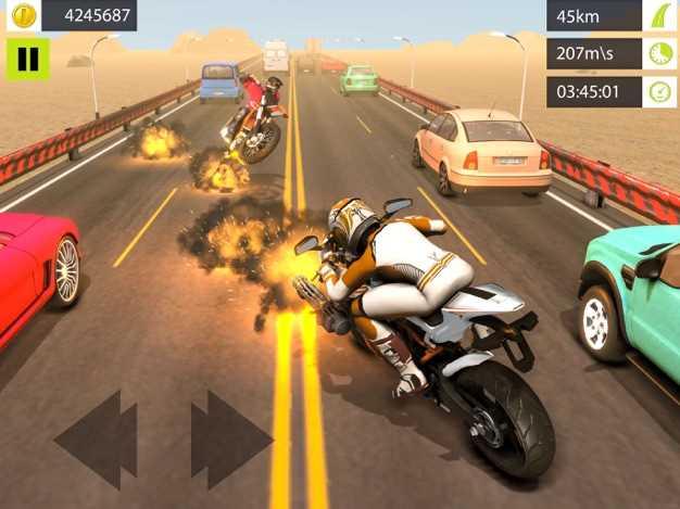 公路摩托车赛车3D截图欣赏