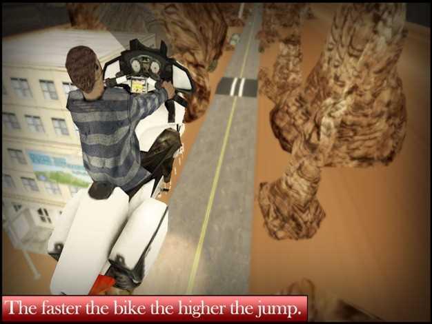 极端的自行车赛车游戏-挑战你疯狂的摩托车特技表演和续流技术在红男爵自由泳躁狂症截图欣赏