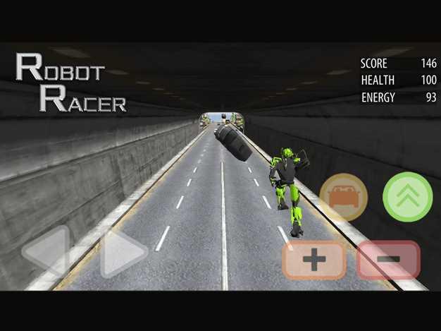 RobotRacer:EndlessMechaFightingonHighway截图欣赏