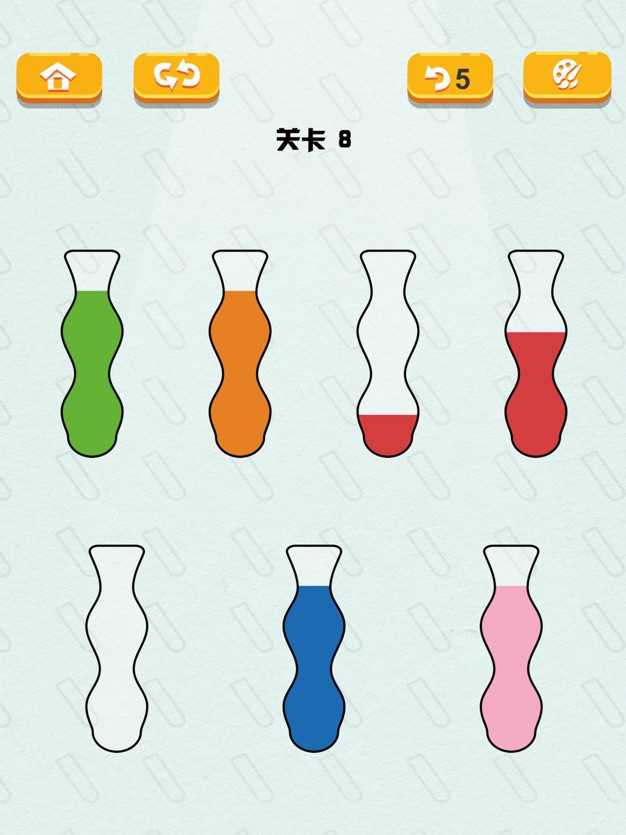 液态拼图—开心水排序益智拼图截图欣赏