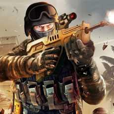 战地和平精英:反恐使命召唤枪战王者吃鸡战场3D荣耀出战FPS