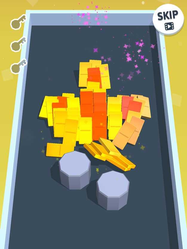 DominoClash-PuzzleBlock3D截图欣赏