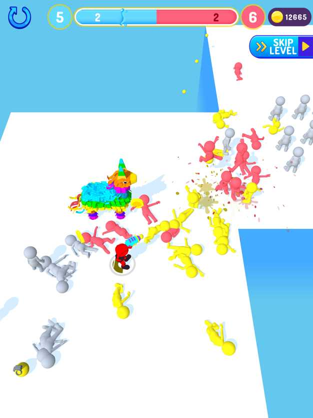 PaintBrawl3D截图欣赏