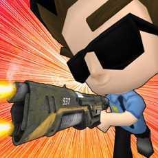 警察实验室袭击-3d警察射击孩子游戏