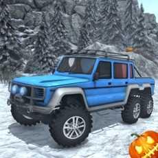 雪驾驶模拟器-6x6号公路卡车比赛