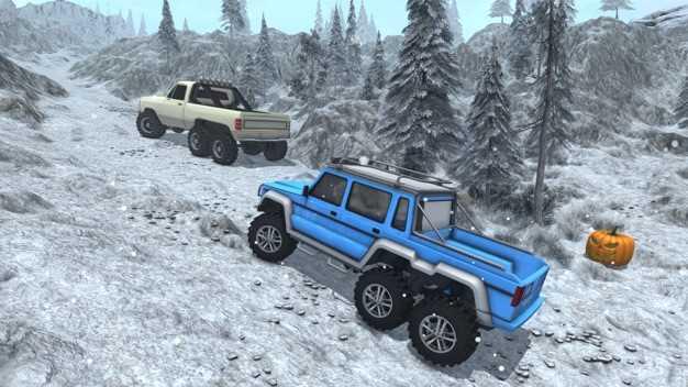 雪驾驶模拟器-6x6号公路卡车比赛截图欣赏