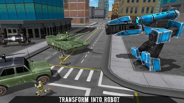 未来派机器人警察-飞行汽车模拟器3D截图欣赏