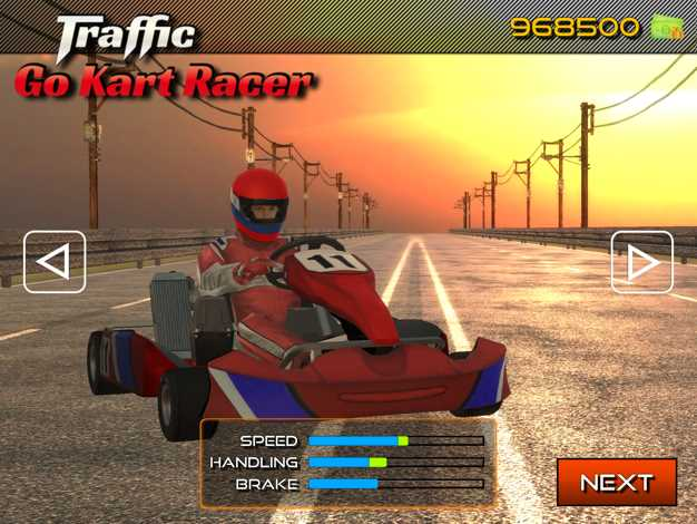 TrafficGoKartRacer3D截图欣赏