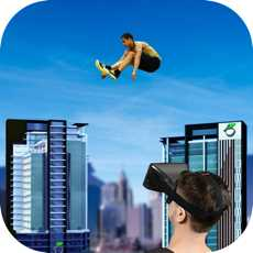 RoofRunnerJump-VRGoogleCardboard