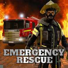 紧急救援911救火车和警察模拟器