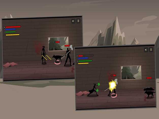 暗影の格斗:无尽之剑-尽显英雄本色,超经典武士搏斗游戏截图欣赏