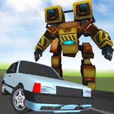 RobotRacer:EndlessMechaFightingonHighway