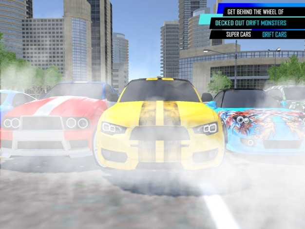 汽车漂移:赛车游戏截图欣赏