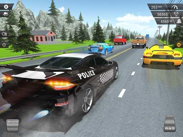 RacingInPoliceCar截图欣赏
