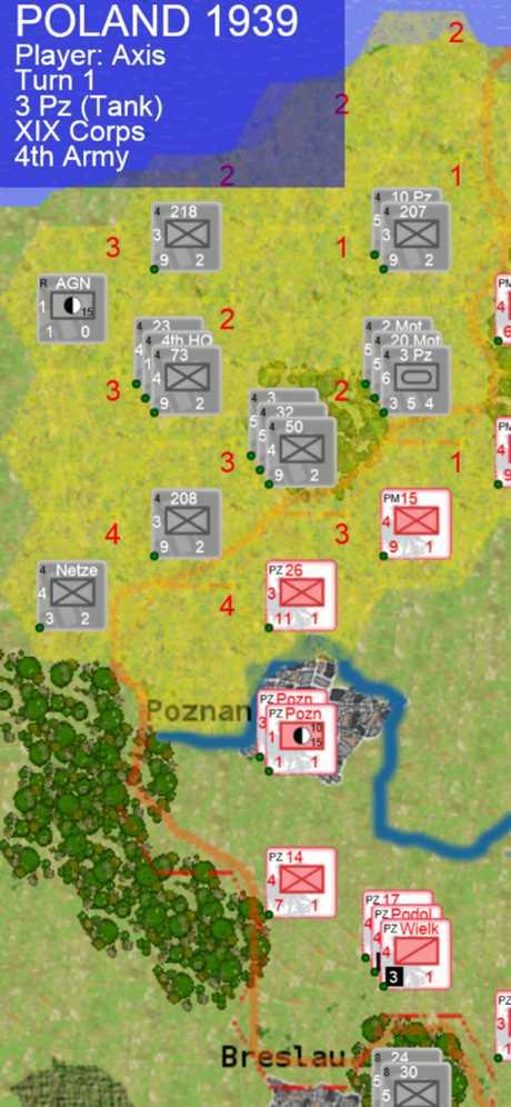 WargamePoland1939截图欣赏