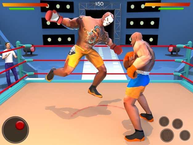 摔跤游戏:真正的摔跤革命Fight3D截图欣赏