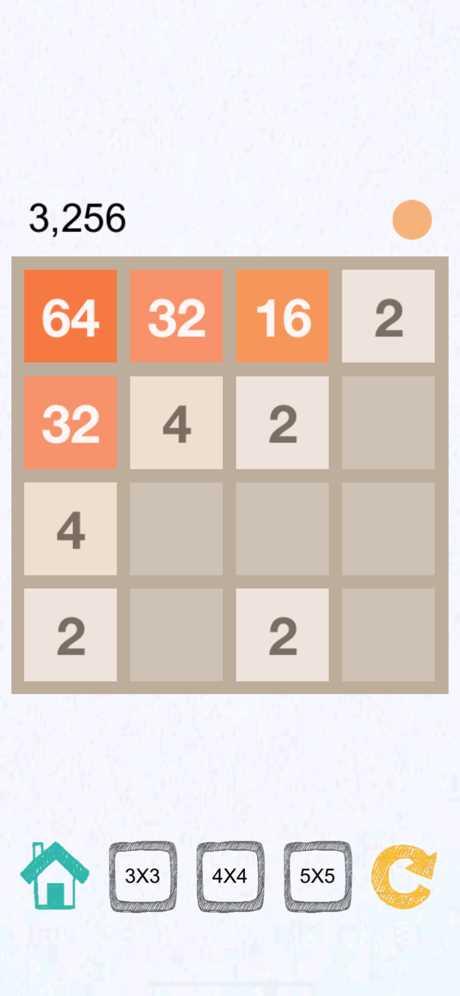 2048(3x3,4x4,5x5)AI截图欣赏